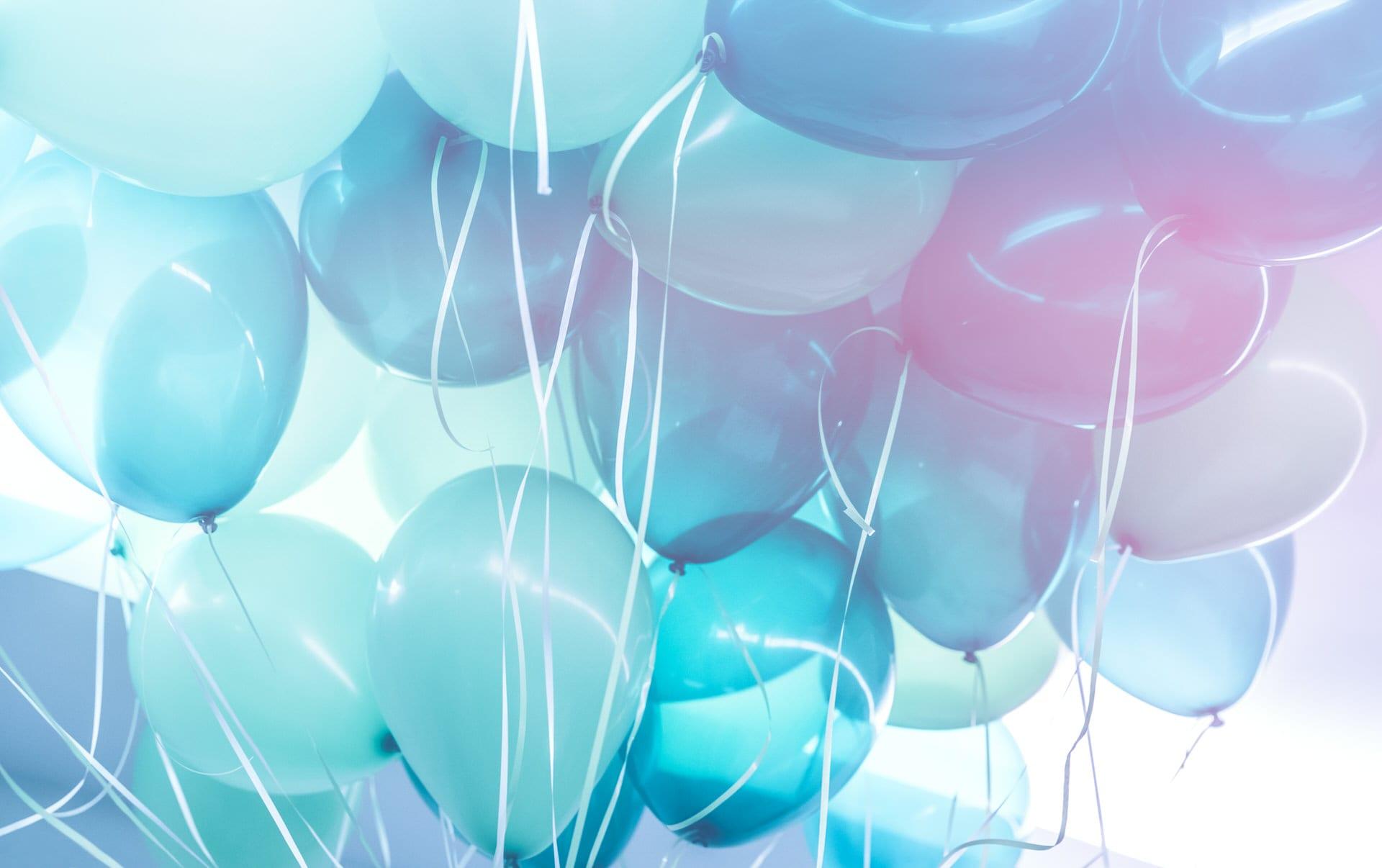 blue balloons background PWSSDST - RSVP
